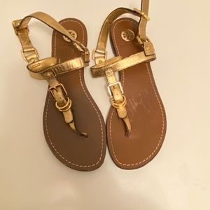 Tory Burch | Gold Sandals Size 6.5